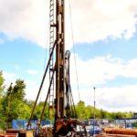wiercenie studni głębinowej- wiertnica H3